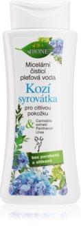 Bione Cosmetics Kozí Syrovátka delikatnie oczyszczający płyn micelarny dla cery wrażliwej
