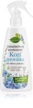 Bione Cosmetics Kozí Syrovátka après-shampoing sans rinçage en spray