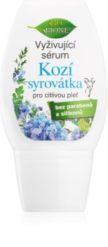 Bione Cosmetics Kozí Syrovátka ser hrănitor pentru remodelarea densității pielii pentru piele sensibilă