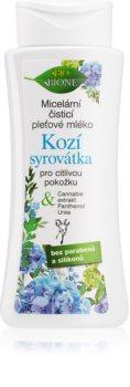 Bione Cosmetics Kozí Syrovátka micelarno mleko za odstranjevanje ličil
