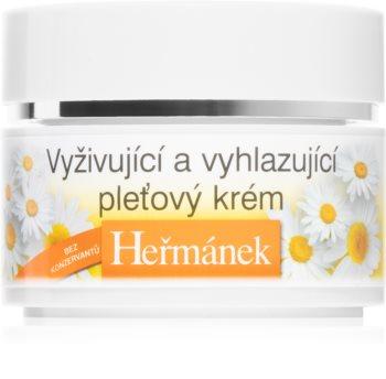 Bione Cosmetics Heřmánek Crema de fata Hrănitoare pentru zi și noapte