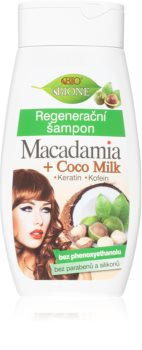 Bione Cosmetics Macadamia + Coco Milk regenerační šampon