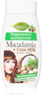 Bione Cosmetics Macadamia + Coco Milk Herstellende Conditioner  voor het Haar