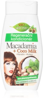 Bione Cosmetics Macadamia + Coco Milk regeneracijski balzam za lase