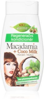 Bione Cosmetics Macadamia + Coco Milk regenerierender Conditioner für das Haar