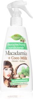 Bione Cosmetics Macadamia + Coco Milk balzam brez spiranja v pršilu