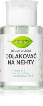 Bione Cosmetics Odlakovač na nehty odstranjevalec laka za nohte z vitaminom E