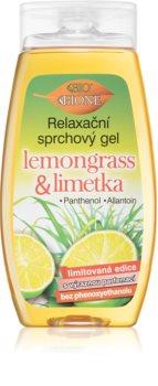 Bione Cosmetics Lemongrass & Limetka Rentouttava Suihkugeeli
