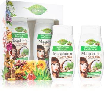 Bione Cosmetics Macadamia + Coco Milk darilni set (za lase)