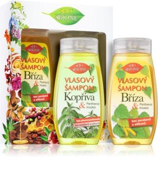 Bione Cosmetics Bříza & Kopřiva set (za lase)