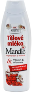 Bione Cosmetics Almonds nährende Body lotion mit Mandelöl