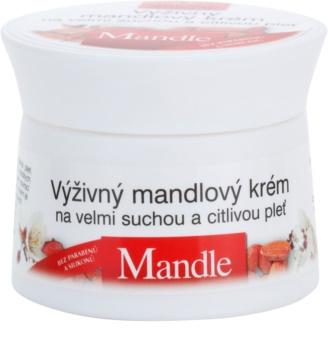 Bione Cosmetics Almonds nährende Creme für sehr trockene und empfindliche Haut