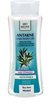Bione Cosmetics Antakne alcool salicylique pour peaux grasses et à problèmes