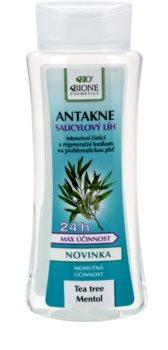 Bione Cosmetics Antakne Alkohol mit Salicylsäure für fettige und problematische Haut