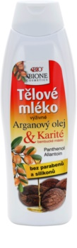 Bione Cosmetics Argan Oil + Karité nährende Body lotion