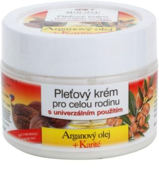Bione Cosmetics Argan Oil + Karité krema za obraz za vso družino