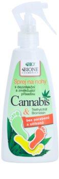 Bione Cosmetics Cannabis spray pieds