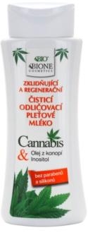Bione Cosmetics Cannabis успокаивающее очищающее молочко