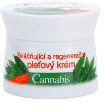 Bione Cosmetics Cannabis восстанавливающий крем для лица