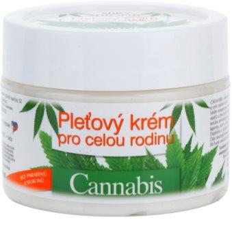 Bione Cosmetics Cannabis creme de rosto familiar