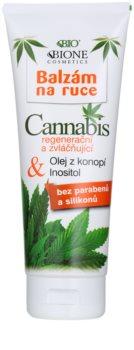 Bione Cosmetics Cannabis восстанавливающий и увлажняющий бальзам для рук