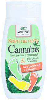 Bione Cosmetics Cannabis Blødgørende fodcreme