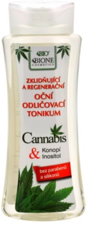 Bione Cosmetics Cannabis démaquillant apaisant yeux
