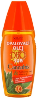Bione Cosmetics DUO SUN Cannabis olej na opalování ve spreji SPF 14