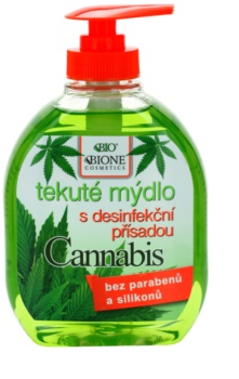 Bione Cosmetics Cannabis mydło w płynie do rąk