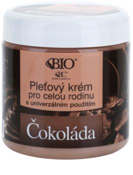 Bione Cosmetics Chocolate Gezichtscrème voor Heel Gezin
