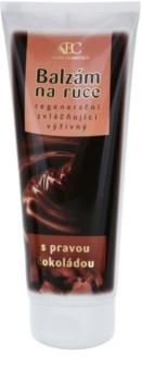 Bione Cosmetics Chocolate Återställande balsam för händer
