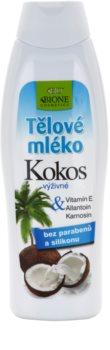 Bione Cosmetics Coconut подхранващ лосион за тяло