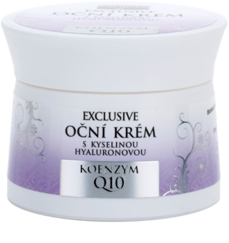 Bione Cosmetics Exclusive Q10 crema de ochi cu acid hialuronic