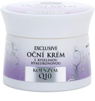 Bione Cosmetics Exclusive Q10 crema para contorno de ojos con ácido hialurónico