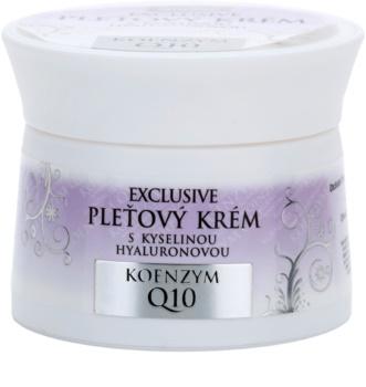 Bione Cosmetics Exclusive Q10 cremă pentru față cu acid hialuronic