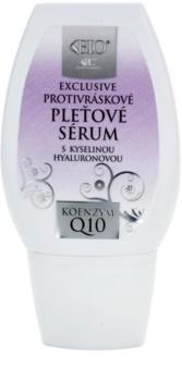 Bione Cosmetics Exclusive Q10 protivráskové sérum s kyselinou hyaluronovou