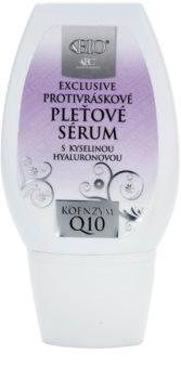 Bione Cosmetics Exclusive Q10 сыворотка против морщин с гиалуроновой кислотой
