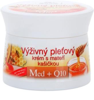 Bione Cosmetics Honey + Q10 Voedende Crème  met Koninginnengelei