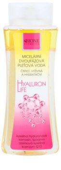Bione Cosmetics Hyaluron Life dvofazna micelarna voda z vlažilnim učinkom