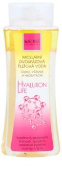Bione Cosmetics Hyaluron Life dvoufázová micelární voda s hydratačním účinkem