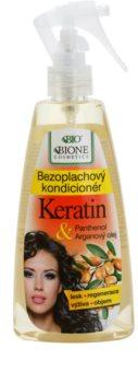Bione Cosmetics Keratin Argan Hiuksiin Jätettävä Suihkehoitoaine