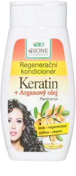 Bione Cosmetics Keratin Argan acondicionador regenerador