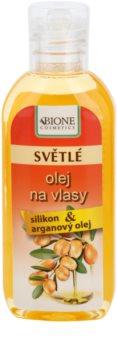 Bione Cosmetics Keratin Argan Hair Oil for Light Shades of Hair