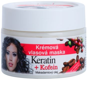 Bione Cosmetics Keratin Kofein Cream Mask for Hair