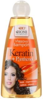 Bione Cosmetics Keratin Panthenol champú para cabello