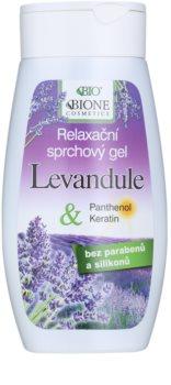 Bione Cosmetics Lavender relaksujący żel pod prysznic Relaksujący żel pod prysznic