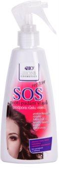 Bione Cosmetics SOS Spray für gesundes Haarwachstum aus den Haarwurzeln