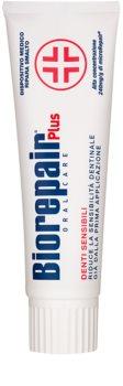 Biorepair Plus Sensitive паста для обновления зубной эмали для чувствительных зубов