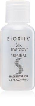 Biosilk Silk Therapy soin régénérateur texture soyeuse pour tous types de cheveux