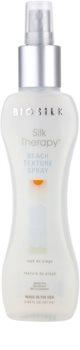 Biosilk Silk Therapy spray con textura de playa